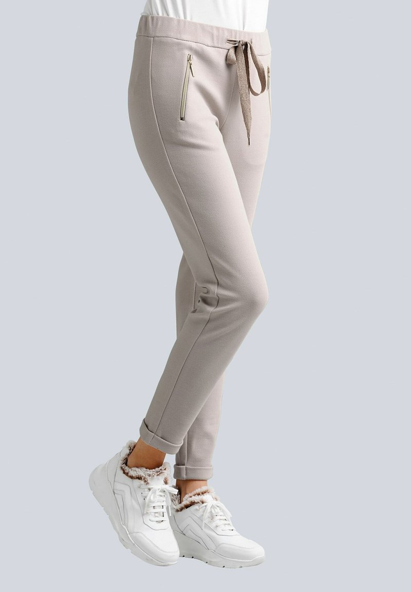 Alba Moda - Tracksuit bottoms - beige