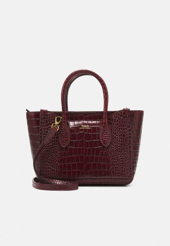 SLOANE SATCHEL MINI - Handbag - oxblood