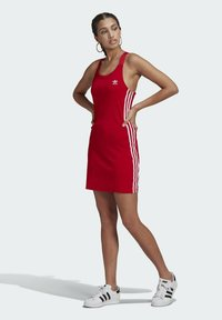 adidas Originals - RACER DRESS - Robe en jersey - scarlet - 1