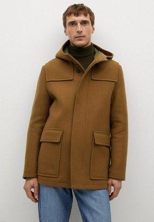 MEDINA - Classic coat - středně hnědá
