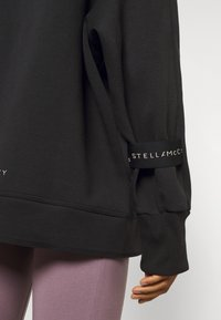 adidas by Stella McCartney - PULL ON - Hoodie - black - 4