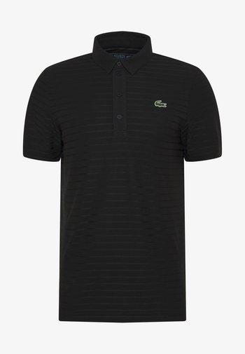 GOLF STRIPE - T-shirt sportiva - black