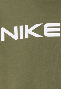 Nike Sportswear - AIR HOODIE - Sweat à capuche - medium olive/cargo khaki/white - 5