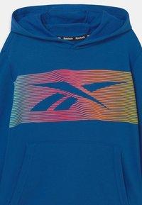Reebok - RAINBOW VECTOR HOODIE UNISEX - Sweatshirt - royal blue - 2