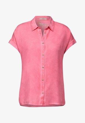 MIT HEMDKRAGEN - Button-down blouse - pink