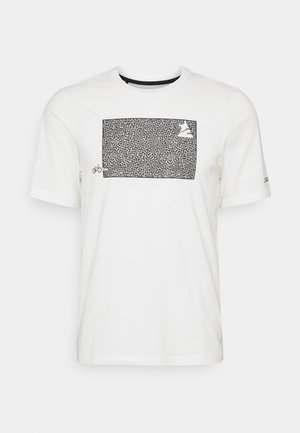 SHININGZ TEE MENS - T-Shirt print - white