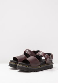 Dr. Martens - VOSS - Platform sandals - charro brando - 4