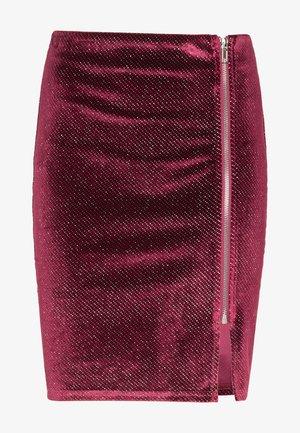 Falda de tubo - bordeaux