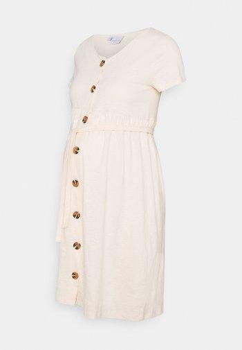 MLJANAYA LIA DRESS - Sukienka z dżerseju - ecru