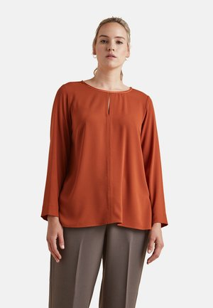 Long sleeved top - arancione