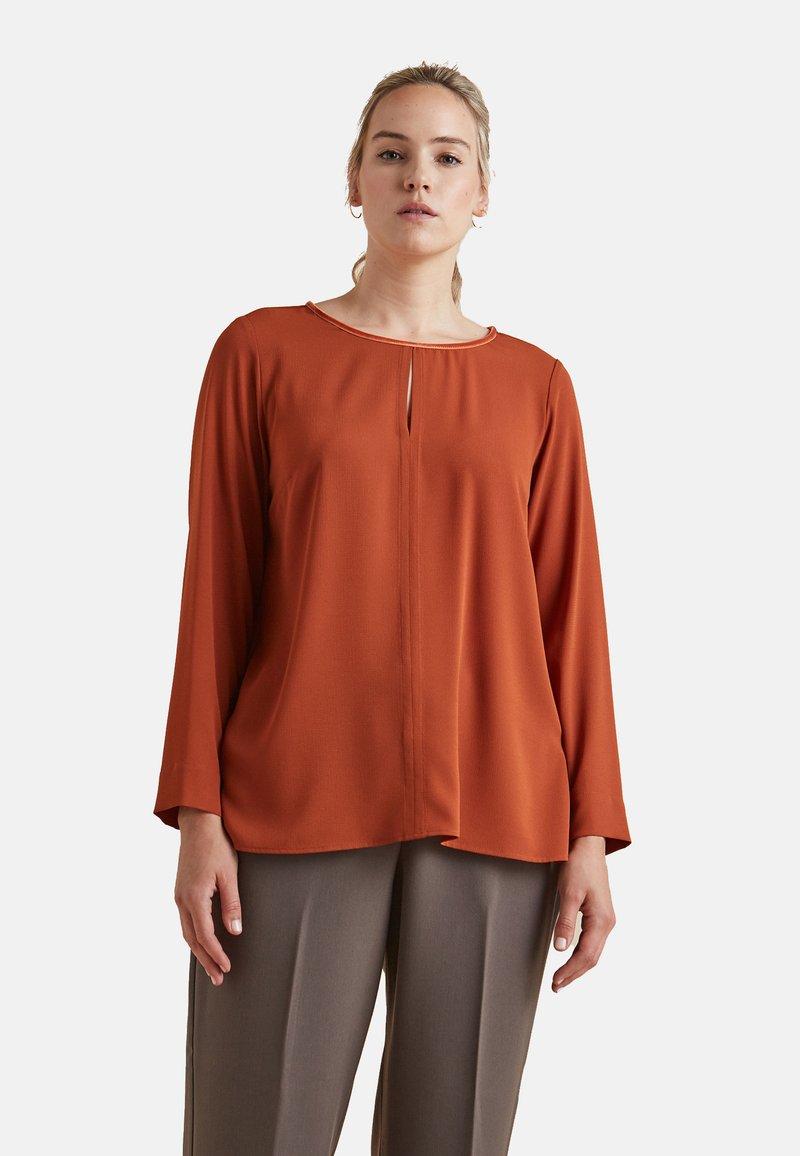 Elena Mirò - Long sleeved top - arancione