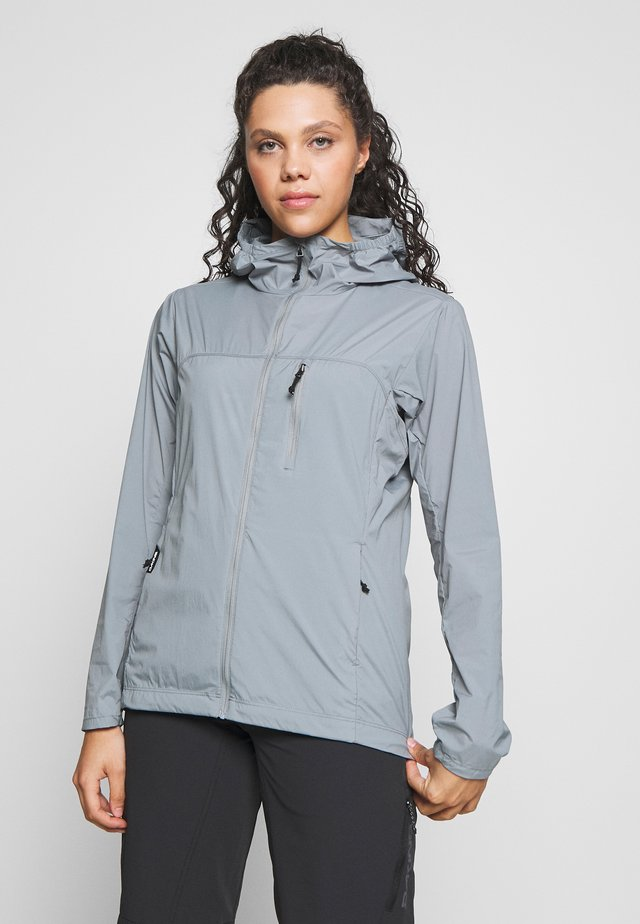 WOMEN'S RESERVE FULL ZIP - Wiatrówka - lead