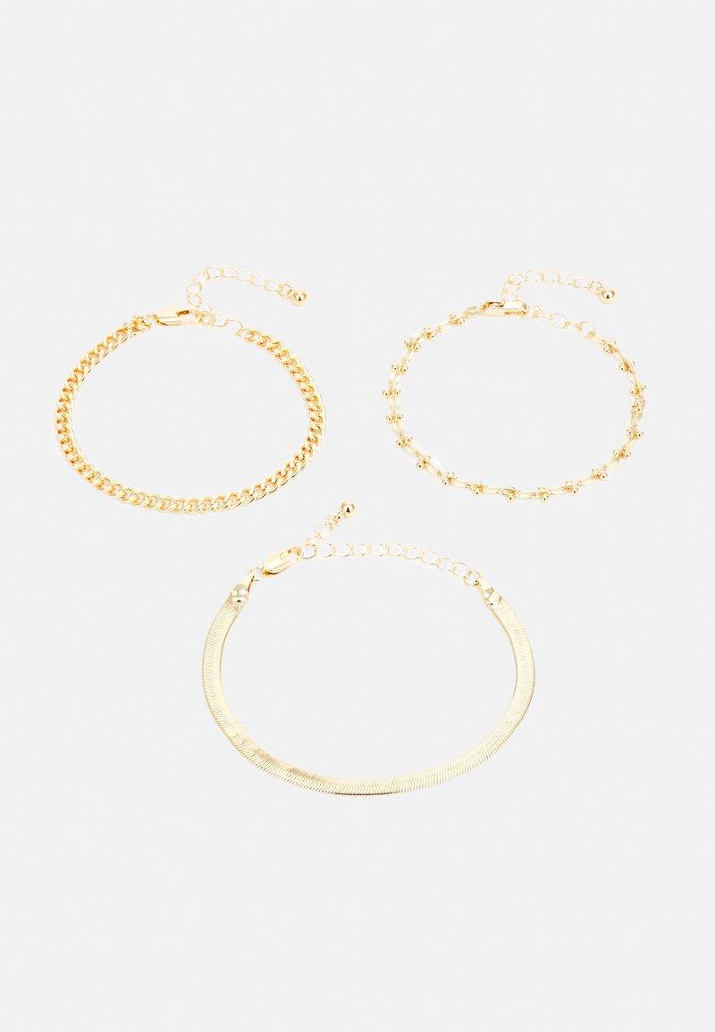 Pieces - PCNAISE BRACELET 3 PACK - Armbånd - gold-coloured