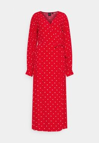 Gap Tall - WRAP DRESS - Korte jurk - red - 4