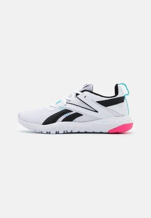 MEGA FLEXAGON - Sportschoenen - white/blue/pink