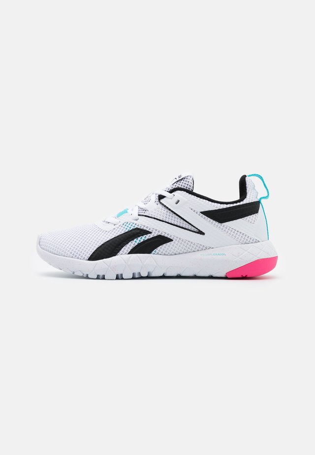 MEGA FLEXAGON - Treningssko - white/blue/pink