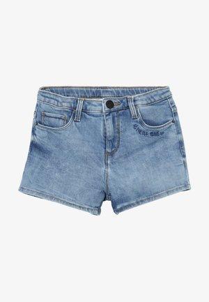 Denim shorts - light authentic blue