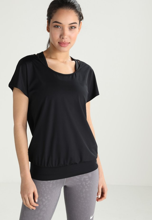 RIA - Basic T-shirt - black