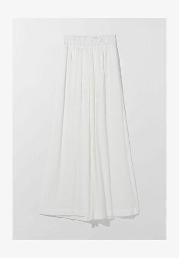 Spodnie materiałowe - white