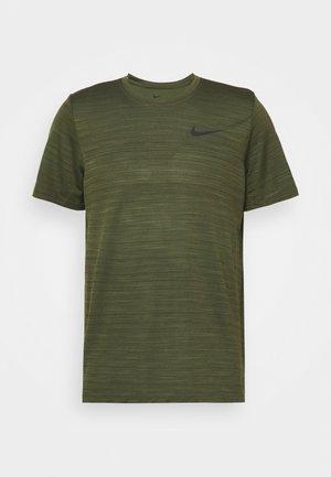 DRY SUPERSET - T-shirt basique - rough green/black