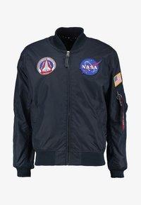 NASA REVERSIBLE II - Kurtka Bomber - blue