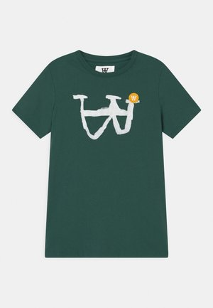 OLA UNISEX - Print T-shirt - faded green