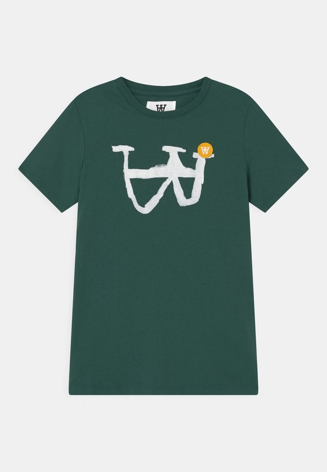 OLA UNISEX - T-shirts med print - faded green