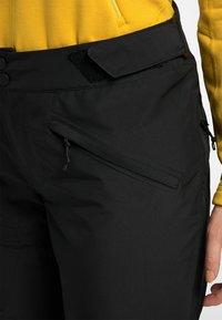 Haglöfs - LUMI FORM PANT - Snow pants - true black - 4