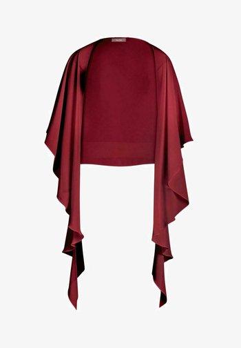 BOLERO - Blazer - dark red