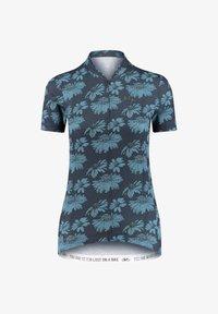 Maloja - Print T-shirt - marine - 0