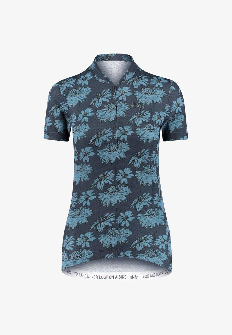 Maloja - Print T-shirt - marine
