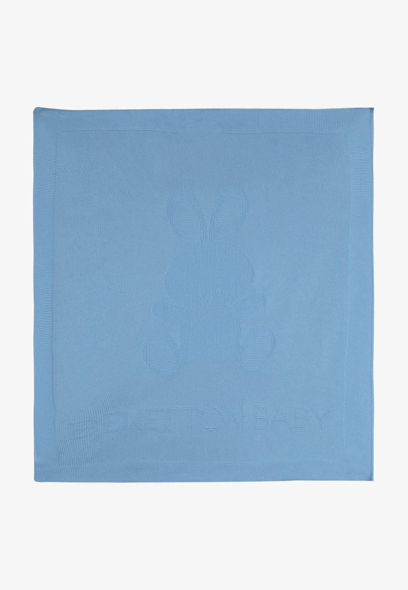 Benetton - BLANKET - Dětská deka - light blue
