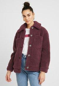 Topshop - READING - Winter jacket - burgundy - 0