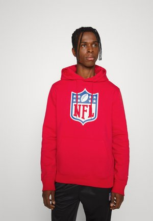 NFL MID ESSENTIALS CREST GRAPHIC HOODIE - Hoodie - red