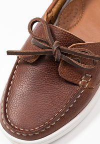 Barbour - MIRANDA - Boat shoes - congac - 2