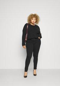 Anna Field - Slim fit jeans - black denim - 1