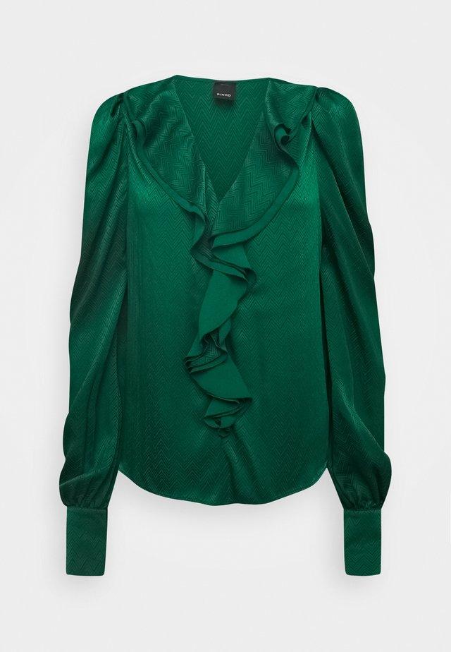 ASTROMETRIA BLOUSE - Blus - green
