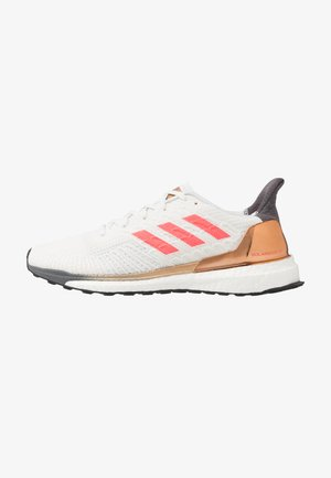 SOLAR BOOST ST 19  - Neutral running shoes - crystal white/signal pink/copper metallic