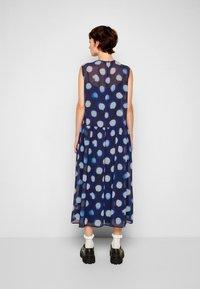 PS Paul Smith - DRESS 2-IN-1 - Day dress - dark blue - 3