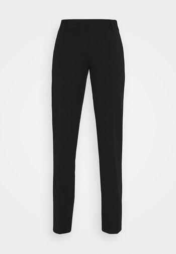 VMEVERLY STRAIGHT PANT - Stoffhose - black