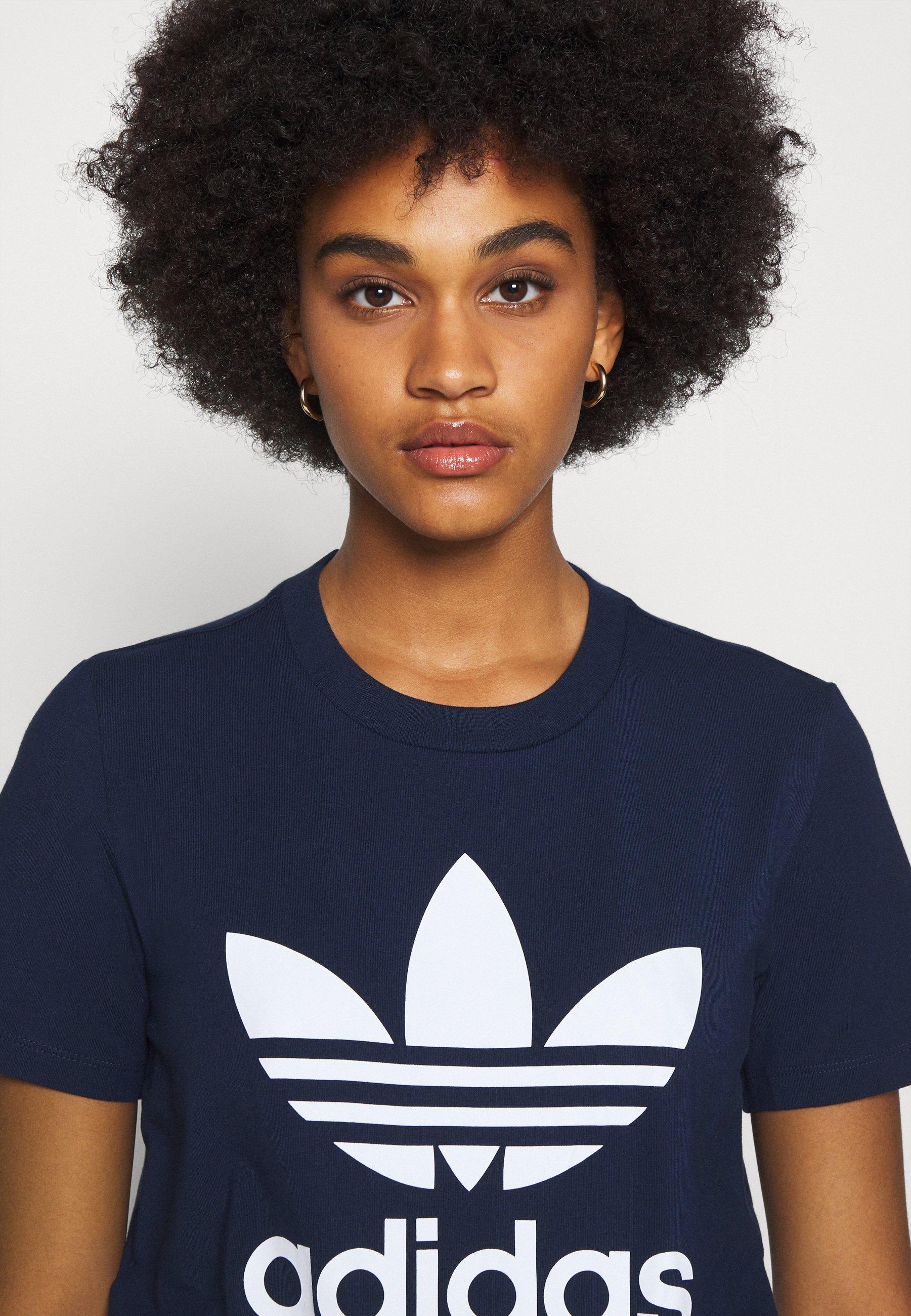adidas Originals TREFOIL TEE T Shirt print collegiate