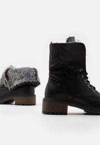 XTI - Kotníková obuv - black - 5