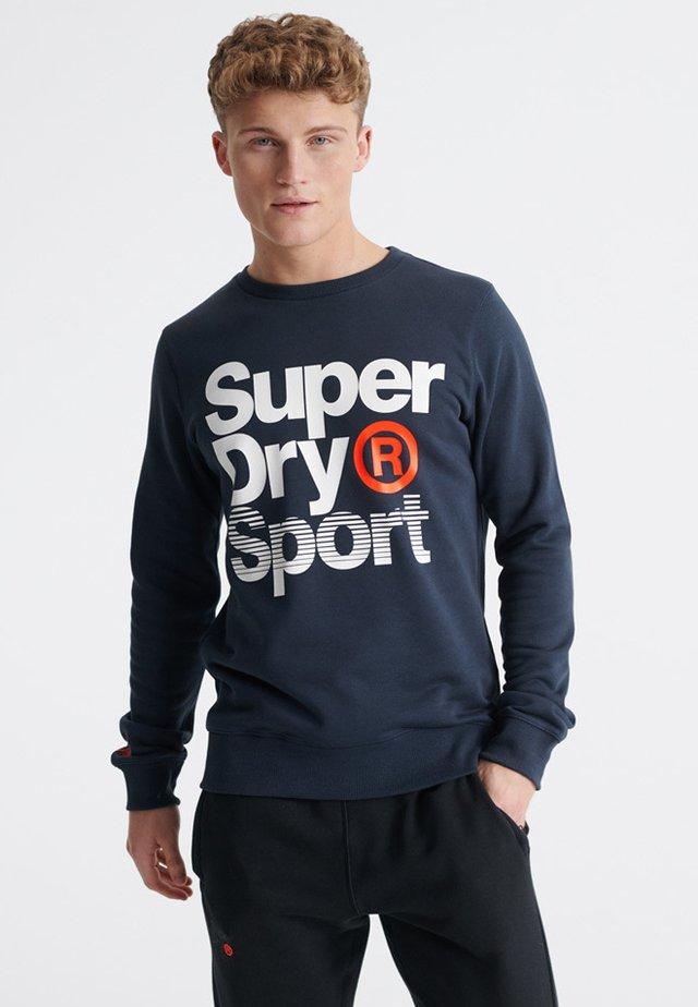 CORE SPORT - Sweatshirt - blue