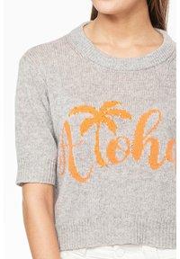 Rosa & Me - ALOHA - Print T-shirt - silver - 3