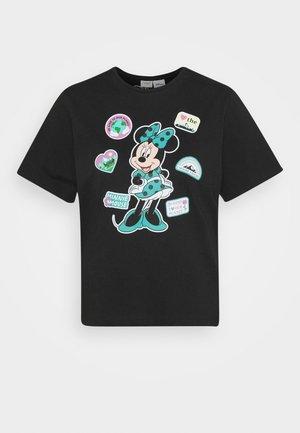 JDYNINA LIFE  - Print T-shirt - black