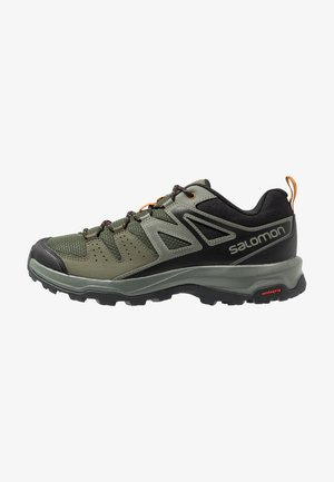 X RADIANT - Hiking shoes - grape leaf/castor gray/cathay spice