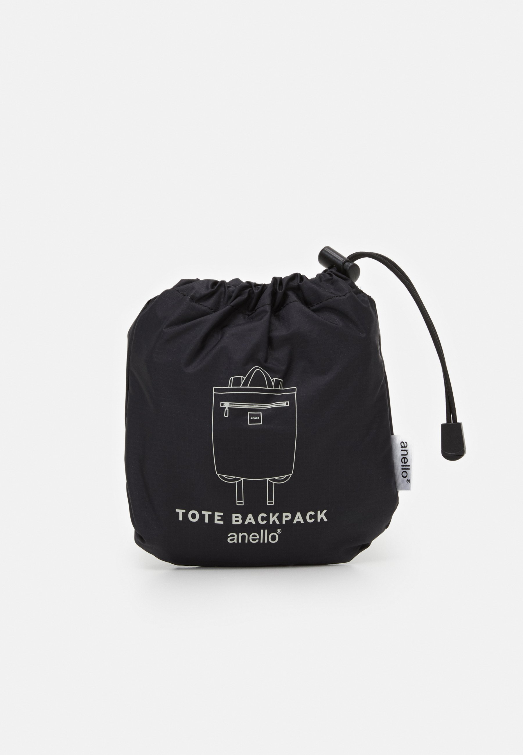 anello SIMPLE TOTE BACKPACK - Ryggsekk - black/svart LnD0STdQELuE46v