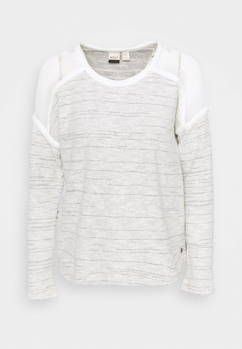 Roxy - WILDER WANDER - Sweatshirt - snow white