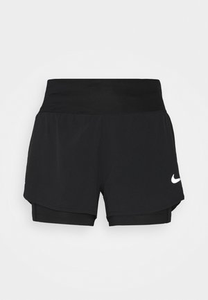 ECLIPSE 2 IN 1 SHORT - Sports shorts - black
