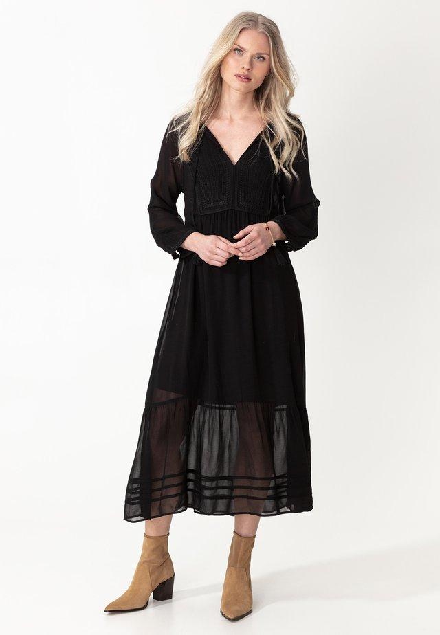 LENA - Robe longue - black